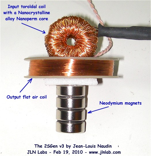 2SGen, an amazing tiny Solid State Generator by JL Naudin